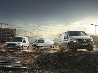 Mercedes-Benz Vans break sales, revenue, EBIT records again