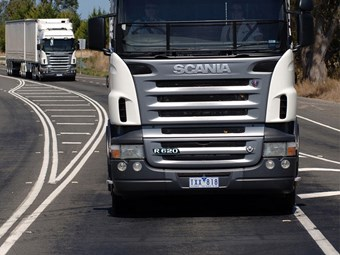 Scania recalls R series trucks