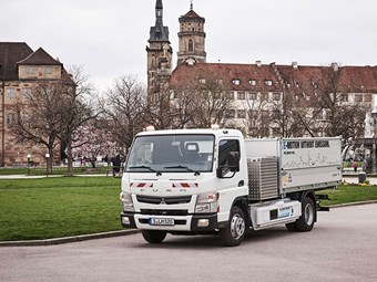 Fuso Canter electric trucks to begin German trial