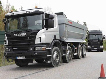 Scania successfully trials self-driving mining truck