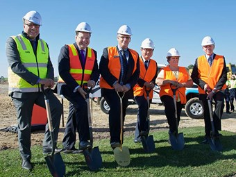 Dana Australia turns sod on new Melbourne facility