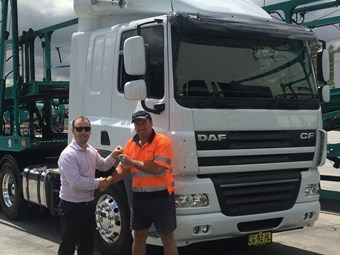 DAF sells 4,000th truck in Australia