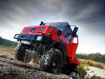 Mercedes-Benz recalls Unimog models