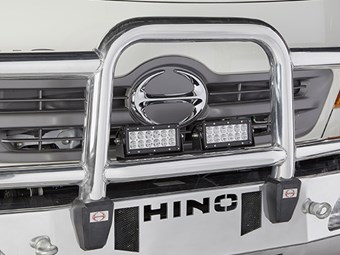 Hino announces LED light kits for trucks