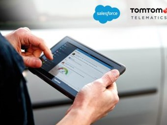 TomTom launches Webfleet app on Salesforce AppExchange