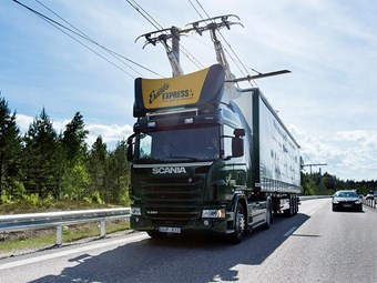 Sweden opens world's first electric motorway