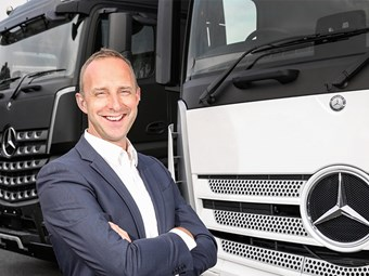 A New Mercedes-Benz Truck Beckons