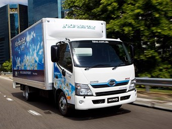 Hino continues hybrid success