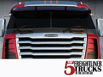 Top Five Freightliner Trucks From the Last Decade