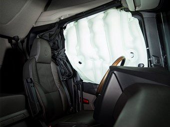 Scania teases next generation safety features