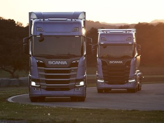 Scania unveils next-generation truck specifications