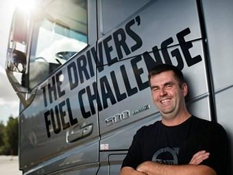 Czech Driver Tops Volvo Fuel Challenge