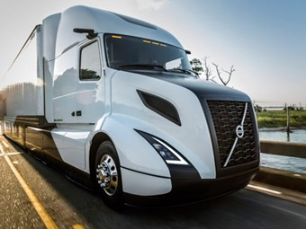 Volvo's SuperTruck arrives in the US