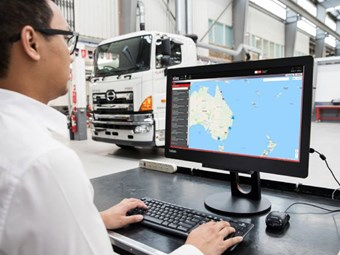 Hino launches Traq telematics system