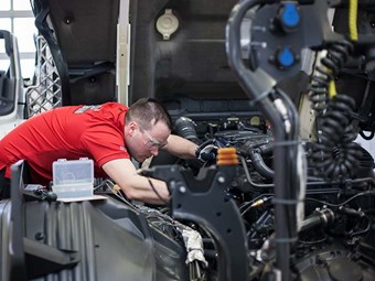 Scania unveils new servicing strategy