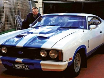 1978 Ford XC Falcon Cobra: Reader ride