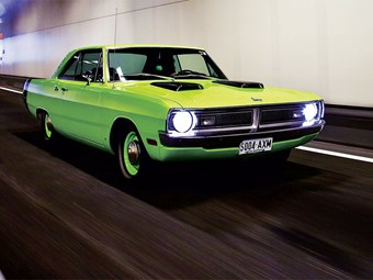 1970 Dodge Dart Swinger giveaway car