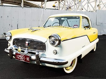 1957 Series III Nash Metropolitan review