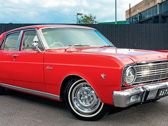 1967 Ford XR Fairmont: Reader ride