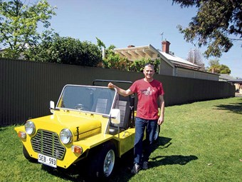 1980 Moke: Reader ride