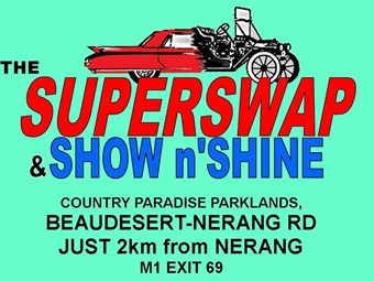 Events: Gold Coast Super Swap Meet/Show n Shine
