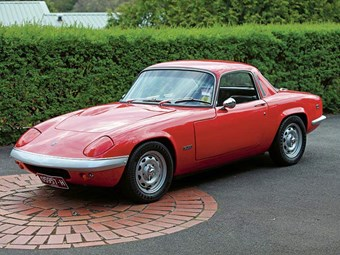 1968 Lotus Elan S4: Reader Resto