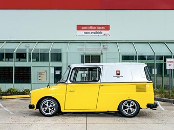 1974 Typ 147 Volkswagen Fridolin: Reader ride
