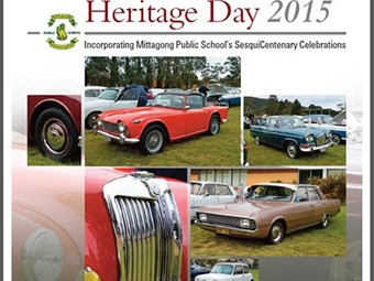Events: BEAC National Motoring Heritage Day display 2015