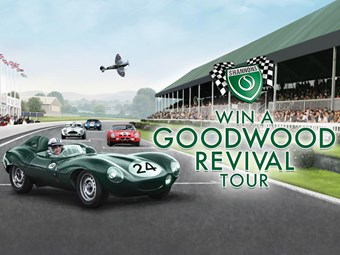 Shannons gives you the chance to win a trip on the 2015 Goodwood Revival Tour