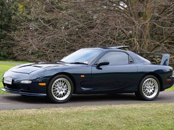 Mazda RX-7 SP up for grabs