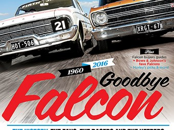 Falcon Farewell - Unique Cars mag