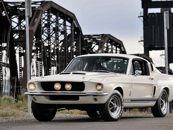 Shelby Mustang 1967 GT350 #1 up for auction