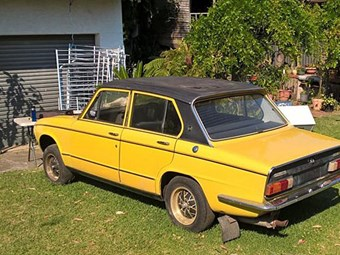 Tuesday tempter: Triumph Dolomite Sprint project car