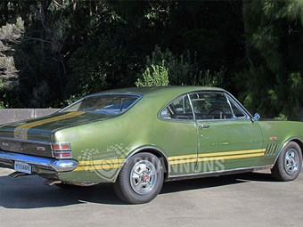 Survivor HT 350 GTS Monaro coming up at Shannons