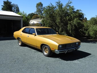 Budget glam: 1976 Ford XC Falcon 351