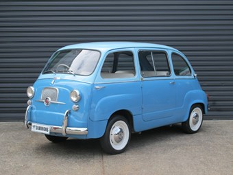 Fiat 600 Multipla on the block - the first people-mover?