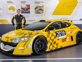 Cam McConville and Renault set sights on Geelong Revival