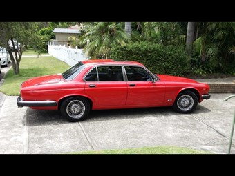 Jaguar XJ6 up for grabs - Thursday time-warp