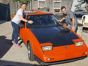 Budget-build Nissan 300ZX takes on Adelaide Classic