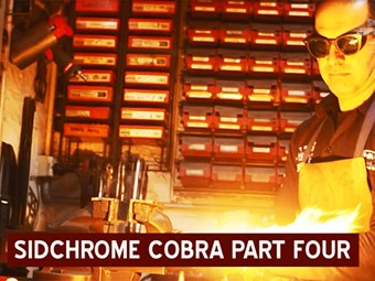 Sidchrome Cobra build part 4 - with Street Machine mag