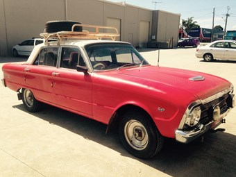 Ford Falcon 1964 XM bash car - Friday Find