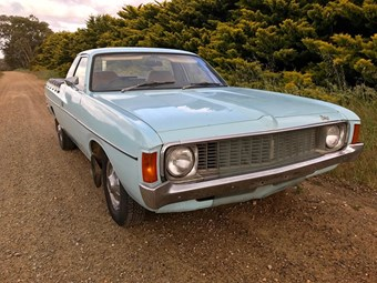 Chrysler Valiant VJ utility - today's tempter