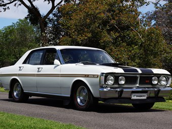 Ford Falcon XY GT auction will test market