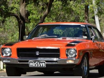 Holden 1972 HQ SS up for grabs - today's tempter