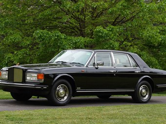 1985 armoured Bentley Mulsanne Turbo on the block