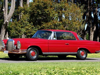 1964 Mercedes-Benz 220SE for auction