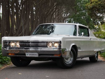 1968 Chrysler 300 hardtop for auction