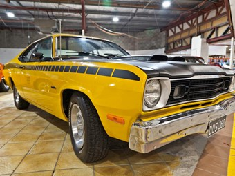 Plymouth Duster at upcoming Lloyds Auction