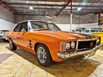 1976 Holden Monaro GTS sedan on the block