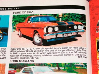 Ford XY V8 ute, Monaro and Dick Johnson Turbo – the cars that got away